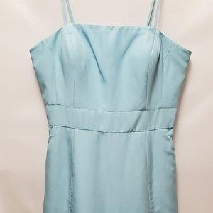 Glint Strapless Cocktail Dress Light-Blue Size 12